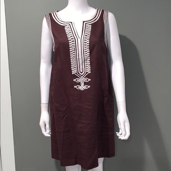 Michael Kors Dresses & Skirts - Michael Kors WOMANS brown linen dress SZ.12